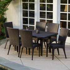 Edward 7 Piece Outdoor Dining Set