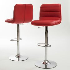 Edward PU Barstools (Set of 2) (Set of 2)