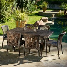 Luminti 7 Piece Outdoor Dining Set