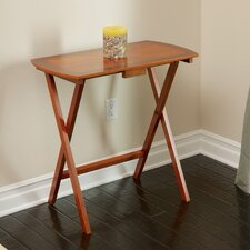 Sheldon Folding Wood Tray Table
