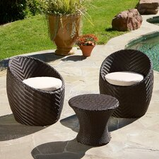 La Jolla 3 Piece Chat Set