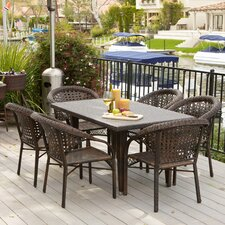River 7 Piece Dining Set