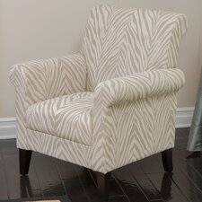 Bigalow Zebra Club Chair