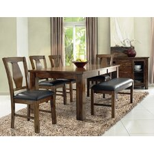 Rancho Cordova 6 Piece Dining Set