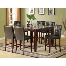 Encore 7 Piece Counter Height Dining Set