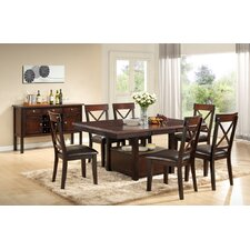 <strong>Urban Styles Furniture Corp.</strong> Jewel City 7 Piece Dining Set