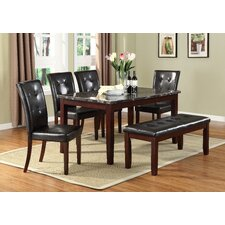Uptown 6 Piece Dining Set