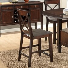 Jewel City Wood Stool (Set of 2)