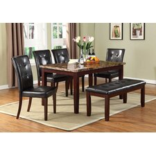 <strong>Urban Styles Furniture Corp.</strong> Hampton 6 Piece Dining Set