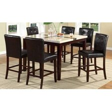 Citi 7 Piece Counter Height Dining Set