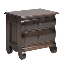 Billissimo 2 Drawer Nightstand