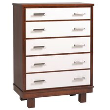 Liscio 5 Drawer Chest