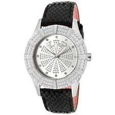 <strong>Paris Hilton</strong> Women's Heiress Round Watch