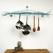 <strong>Merkled Studio</strong> Wall Mounted Pot Rack