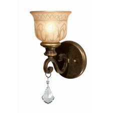 <strong>Crystorama</strong> Norwalk 1 Light Wall Sconce