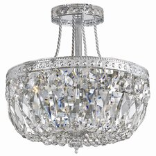 Bohemain 3 Light Semi Flush Mount