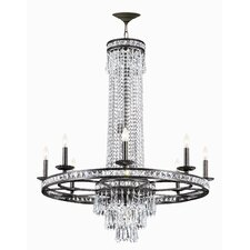 <strong>Crystorama</strong> Mercer 12 Light Chandelier