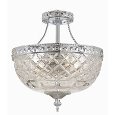 Cortland 2 Light Semi Flush Mount