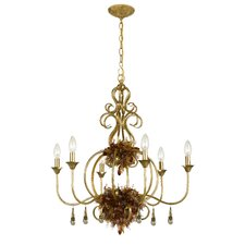 Fiore 6 Light Chandelier