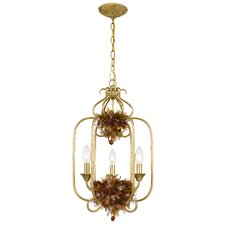 Fiore 3 Light Foyer Pendant