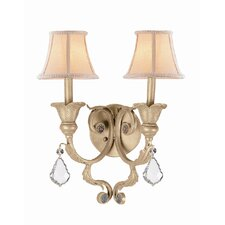 <strong>Crystorama</strong> Winslow 2 Light Wall Sconce