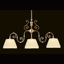 Hot Deal 3 Light Brass Flush Mount
