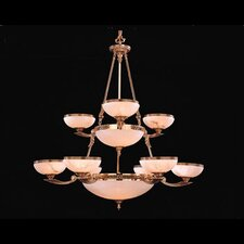<strong>Crystorama</strong> European Classic 8 Light Chandelier