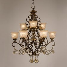 <strong>Crystorama</strong> Norwalk 9 Light Chandelier