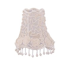"5"" Beaded Mini Empire Wall Sconce Shade"