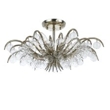Metro 5 Light Semi Flush Mount