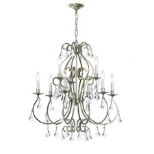 <strong>Crystorama</strong> Ashton 9 Light Chandelier