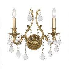 Yorkshire 2 Light Candle Wall Sconce