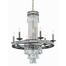 Traditional Classic 10 Light Majestic Series Crystal Chandelier