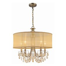 <strong>Crystorama</strong> Hampton 5 Light Chandelier