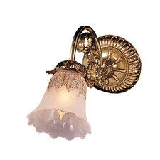 <strong>Crystorama</strong> Cecile 1 Light Wall Sconce