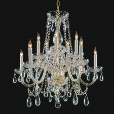 Bohemian 10 Light Candle Chandelier