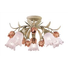 Southport 6 Light Semi Flush Mount