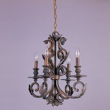 Royal 4 Light Candle Chandelier