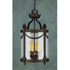 <strong>Crystorama</strong> Regal Series 6 Light Hanging Lantern