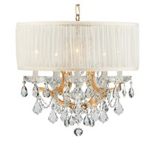 <strong>Crystorama</strong> Brentwood 5 Light Chandelier