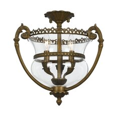 Camden Hill 3 Light Semi Flush Mount