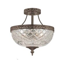 Bohemain 2 Light Semi Flush Mount