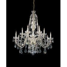 Bohemian 12 Light Chandelier
