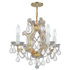 Maria Theresa 4 Light Chandelier