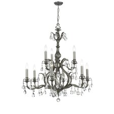 <strong>Crystorama</strong> Dawson 9 Light Chandelier