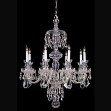 Bohemian 8 Light Chandelier