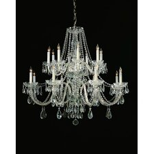 Bohemian 16 Light Candle Chandelier