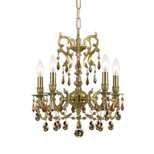 Gramercy 5 Light Crystal Candle Chandelier
