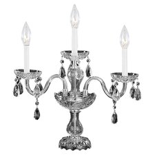 Traditional Crystal 3 Light Bath Vanity Light