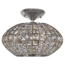 Solstice 3 Light Semi Flush Mount